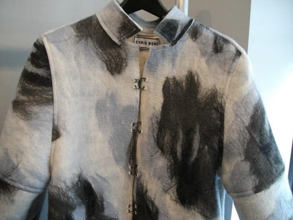 Chris Benz Coat Made Entirely of Felt
